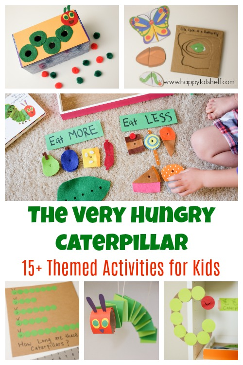 The very hungry caterpillar activities for toddlers and preschoolers