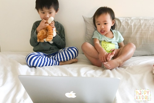 Screen time for kids