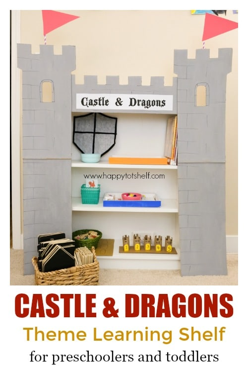 Castle & Dragon Learning Shelf