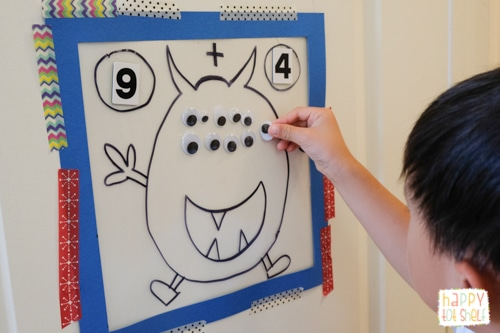 monster counting activity