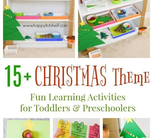 Christmas Learning Activities and Shelf