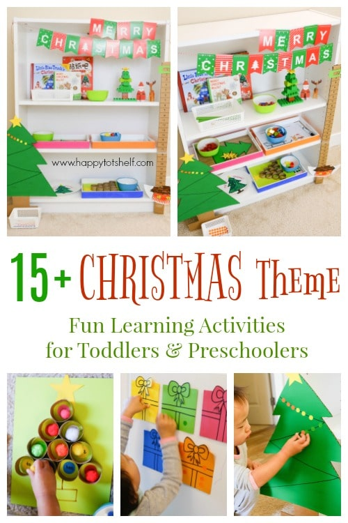 Christmas Theme Learning Activities