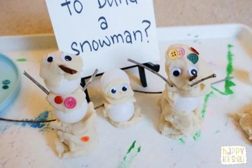 Invitation to Create Snowman