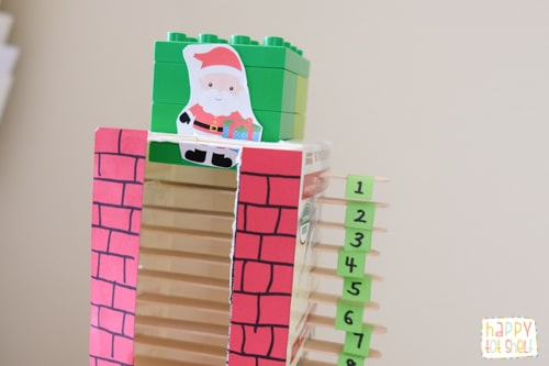 Christmas Countdown activity for kids