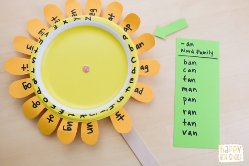 Brilliant Word family activity for kids