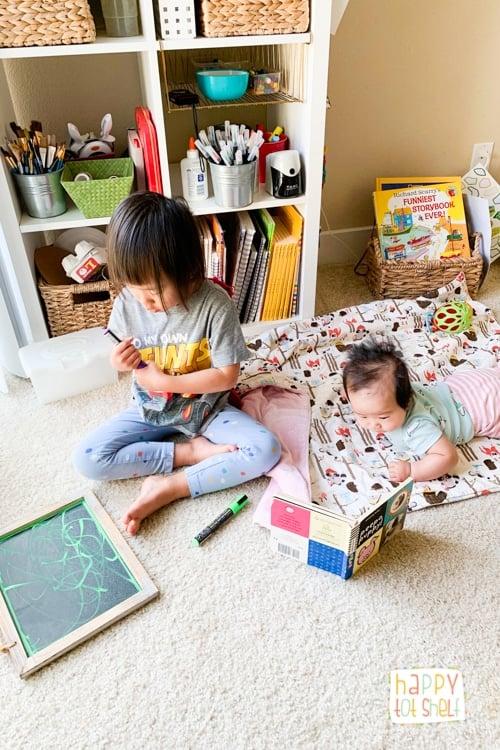 Children at home