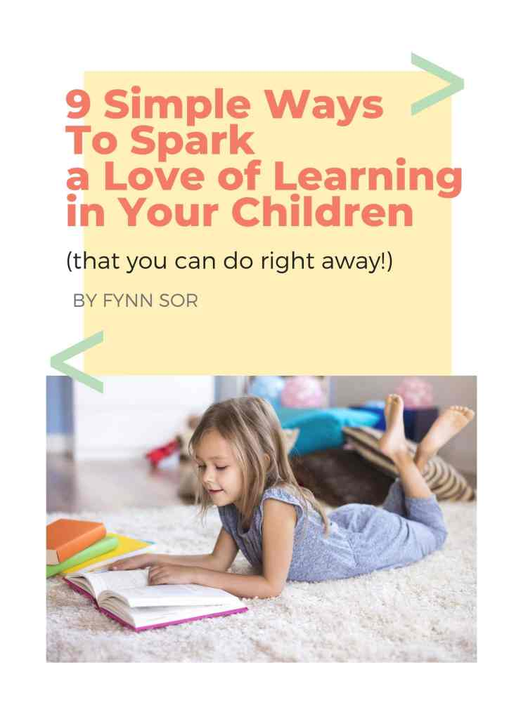 How To Spark a Love of Learning Cover