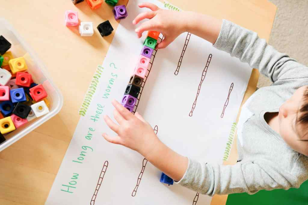 hands-on measurement activity for children