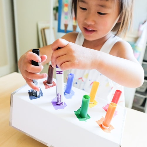 Fun hands-on learning activity for kids