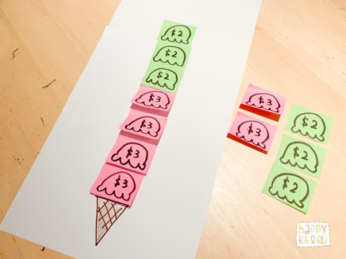 Ice Cream Multiplication Activities for Kids