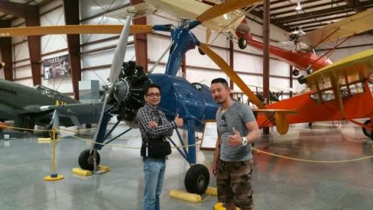 復元されたアメリカ軍の戦闘機132242