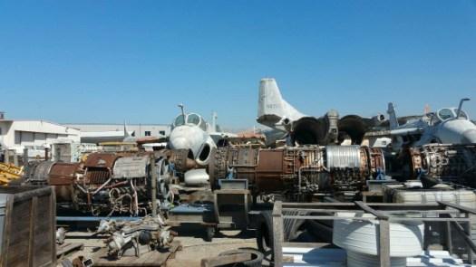 復元されたアメリカ軍の戦闘機132246