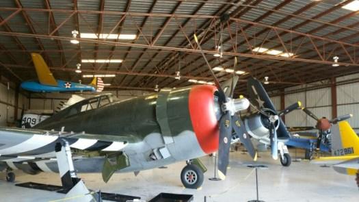 チノ空港の航空博物館