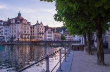 Lucerne Beautiful City In Switzerland