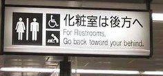 Go back toward your behind