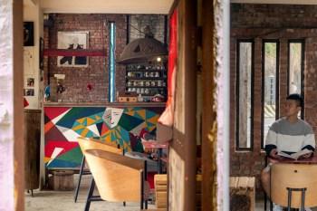 南投國姓景點。『鐵帽咖啡』藝術風格鐵雕咖啡館,超個性老闆,隨性享受生活態度,南投咖啡廳推薦