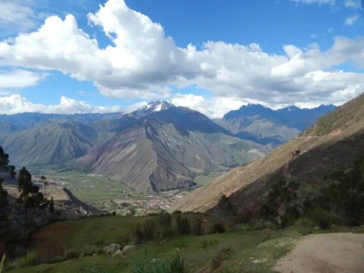 ペルーの山