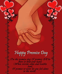 Happy Promise Day Images, Greeting Card For Whatsapp