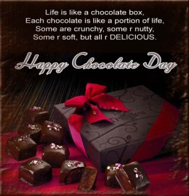 Happy Chocolate Day Wishes Wallpapers For Girlfriend