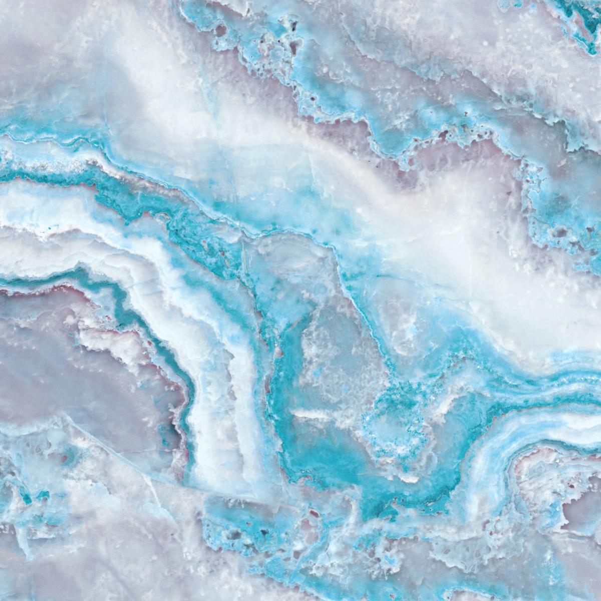 Wallpapers For Computer Cute Trendy Blue Mermaid Ocean Marble Tapet Fototapet Happywall