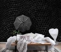 Wallpaper Umbrella dots | Wall Mural - Happywall