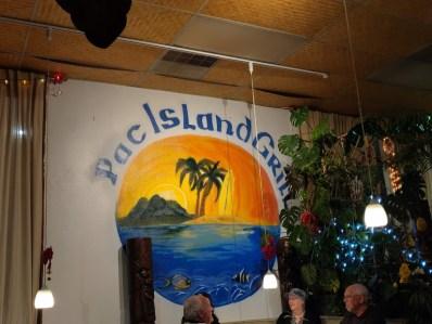 Pac Island Grill Logo, Hawaiian Restaurant