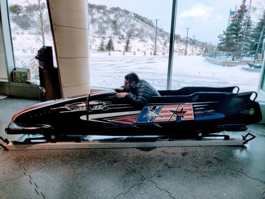 Bobsled Alf Engen Ski Museum Olympic Park