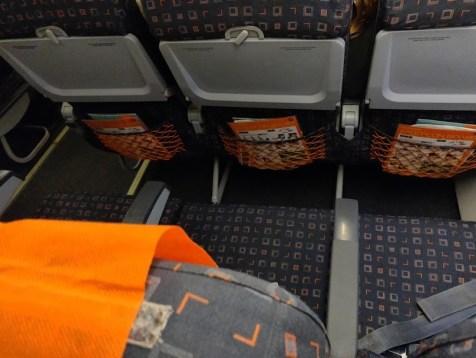 EasyJet Berlin to Copenhagen Standard Seat