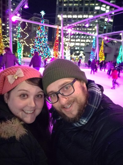 Us at Gallivan Center -- Christmas Events in Salt Lake City