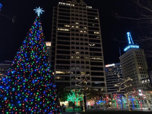 Gallivan Center Christmas Tree -- Christmas Events in Salt Lake City