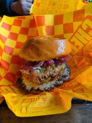 La Tula Chedda Burger