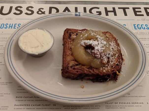 Russ & Daughters French Toast