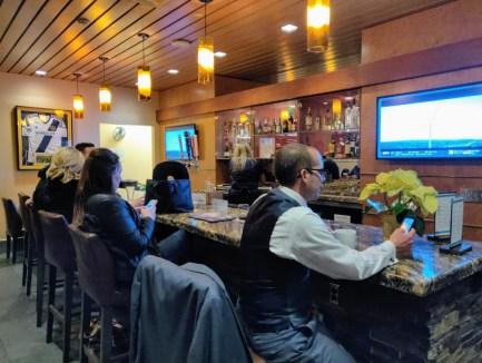 Alaska Airlines Lounge Bar