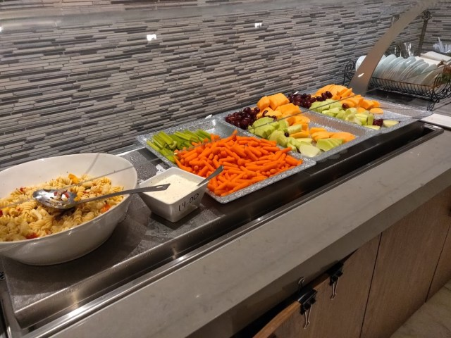 Korean Airlines Lounge Cold Food