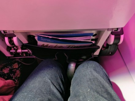 Virgin America Legroom