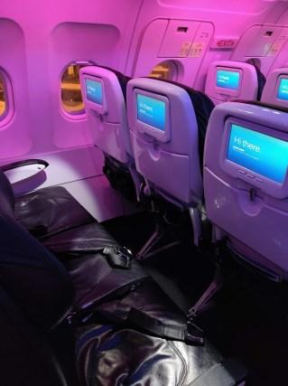 Virgin America Seating