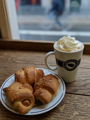 Save on Food at Espresso House Coffee and Pigs in a Blanket