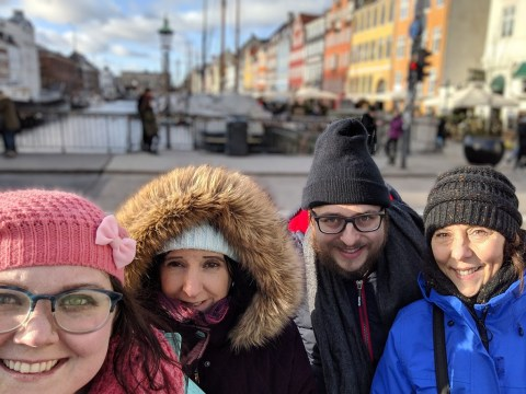 Family at Nyhavn