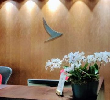 Cathay Pacific First Class Lounge Entry