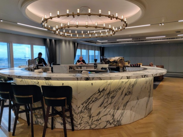 Qantas London Lounge 2nd Floor Bar