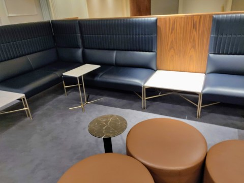 Qantas Lounge Seating