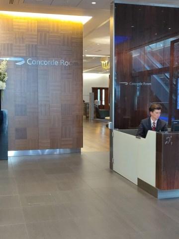 Concorde Room Entrance