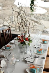 78 Beautiful Winter Table Settings | HappyWedd.com