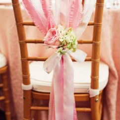 Burlap Bows For Wedding Chairs Child Chair Bikes 53 Cool Decor Ideas With Fabric And Ribbon   Happywedd.com