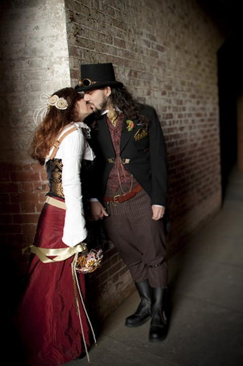 23 Original Steampunk Groom Attire Ideas
