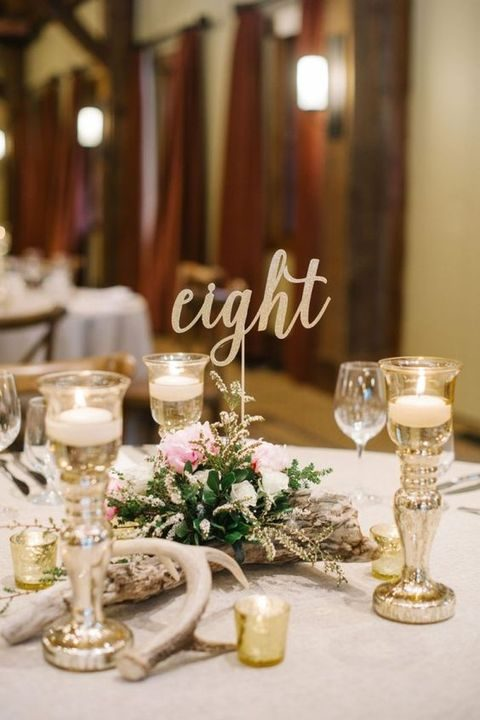 gold sequin chair covers best chairs geneva glider 17 winter wedding table numbers ideas | happywedd.com
