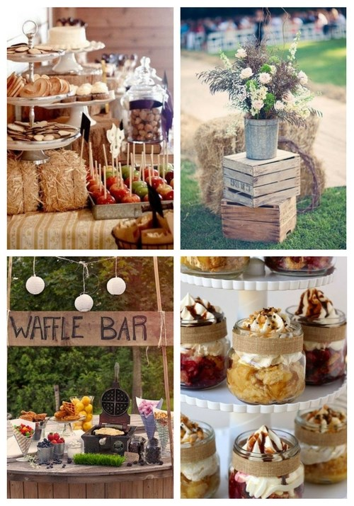 40 Creative And Cute Rustic Bridal Shower Ideas