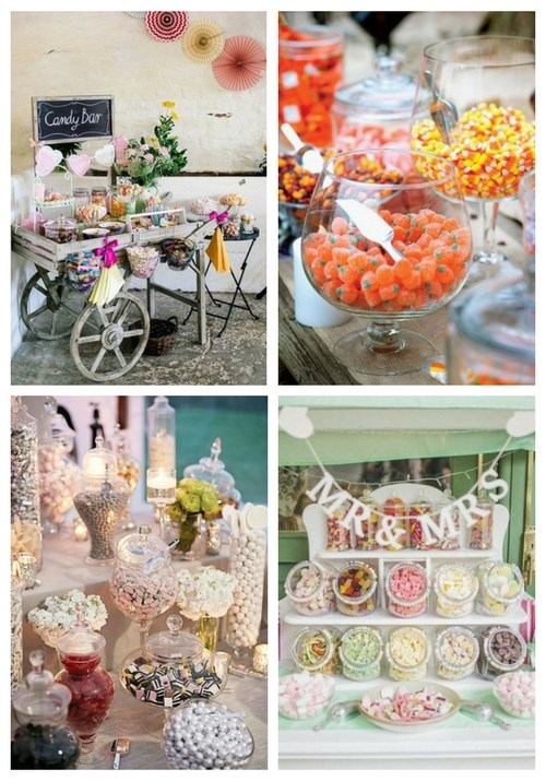 Love Is Sweet 55 Wedding Candy Bar Ideas