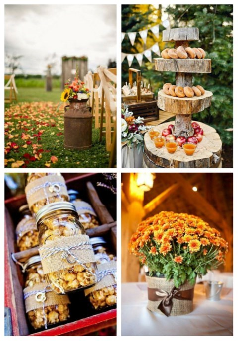 75 rustic fall wedding