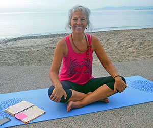 Heidi Hackler, yoga teacher, Happy Well Lifestyle
